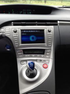 Toyota Prius Plugin console
