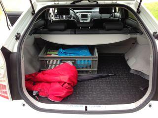 Toyota Prius Plugin - ruimte alom