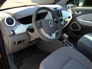 Voorin bij de Renault Zoe